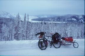 Am Yukon in Alaska, winter 2005