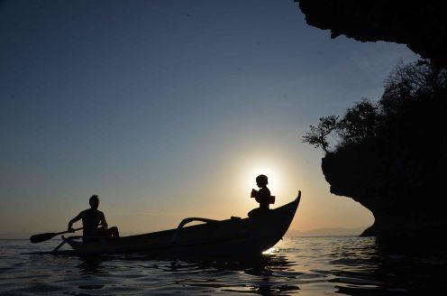 Vor der Küste Romblons / Philippines