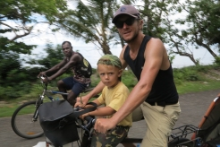 Cycling in the Salomon Islands, 2016