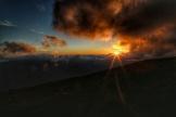 Sunrise, Tambora Vulcan