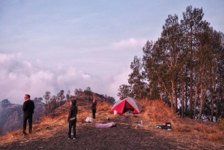 Rinjani Crater Camp