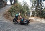 Downhill to the Bromo Caldera